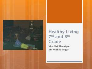 Healthy Living 7th & 8th Grade
