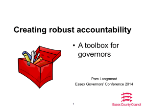 Creating robust accountability - conference