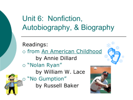 Nonfiction Unit PP