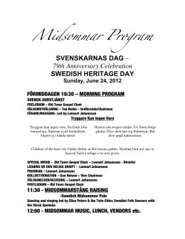 SKD draft Midsommar Prog 2012