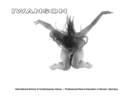 International School of Contemporary Dance