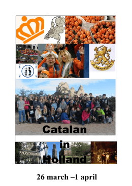 Catalan in Holland
