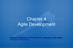 Chapter 4 An Agile View of Process