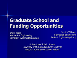 ASME/BMES workshop for NSF Predoctoral Fellowship
