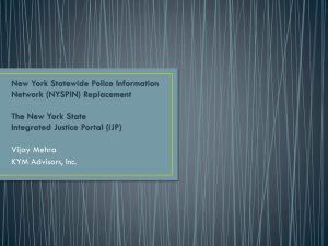 New York Statewide Police Information Network (NYSPIN