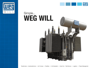 WEG WILL Transformer PPT