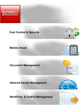 Kyocera Business Applicatons