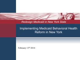 available here - NYS Council for Community Behavioral Healthcare