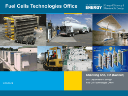 DOE Fuel Cells Technologies Office