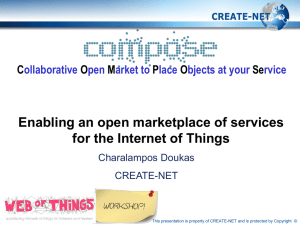 COMPOSE_Enabling an open marketplace of services for the