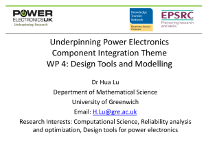 PowerPoint Presentation - EPSRC Centre for Power Electronics