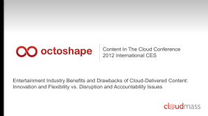 Scott Brown, Octoshape - Distributed Computing Industry Association