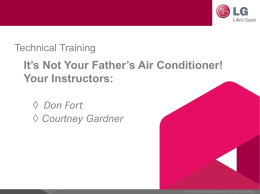 It`s Not Your Father`s HVAC Business