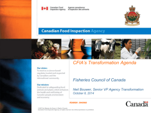 Neil Bouwer - the Fisheries Council of Canada