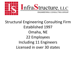 Structural Engineering Consulting Firm Established 1997 Location