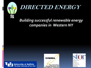 Directed Energy - Business Incubator Association of New York State