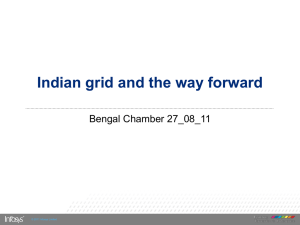Indian grid and the way forward - Bengal Chamber of Commerce