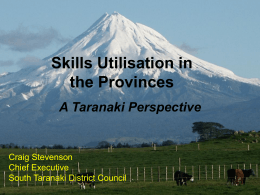 Session 7: Craig Stevenson, South Taranaki District Council