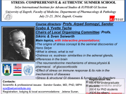 The Best Summer School on Stress