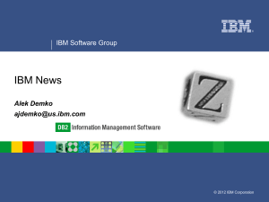 Upgrading to Version 10 5 of IBM DB2 for Linux, UNIX