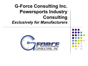 G-Force Consulting Inc.Overview