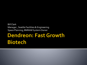 Dendreon: Fast Growth Biotech