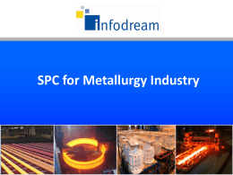 SPC for Metallurgy Industry