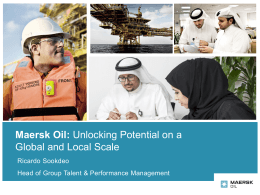 QP HR Conference Presentation - Maersk Oil