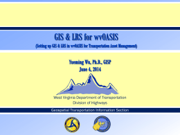 Wu 2014 - West Virginia GIS Technical Center