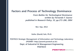 Factors Associated with Technology Dominance