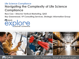 Life Science Compliance