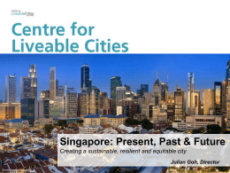 Smart City_ Singapore - Center for Resilient Design at the New