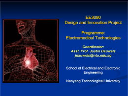 Electromedical Technologies Programme