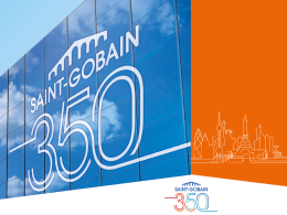 Saint-Gobain Overview Presentation