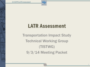 M-NCPPC LATR Assessment - Montgomery County Planning
