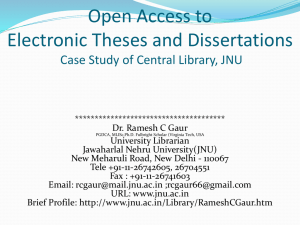 open access to electronic theses and dissertations