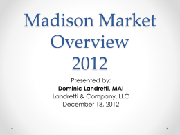 Madison Market Overview