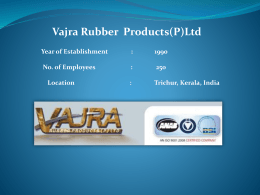 Vajra Presentation April 2013