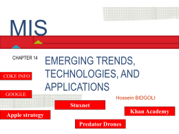 Chapter 14 Emerging Trends, Technologies, and Applications