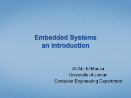 Introduction - Dr Ali El