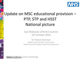 Sharon Harrison - Health Education East Midlands
