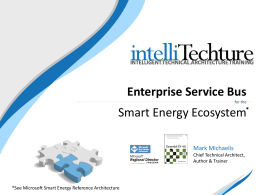 An Enterprise Service Bus Overview for the Smart