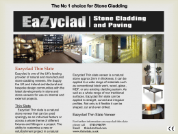 Eazyclad Wafer Thin Slate ww.eazyclad.com