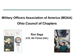 Ron Sega, USAF, Ret & Astronaut