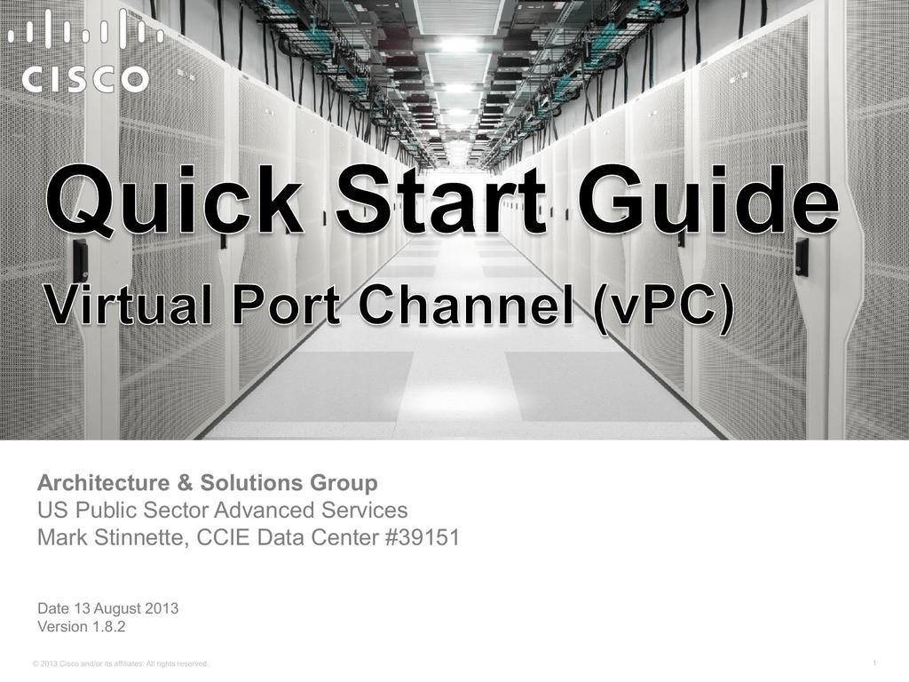 vPC - Cisco Communities