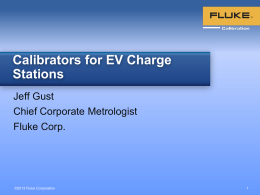 Calibrators for Electric Vehicle Charge Stations by Jeff Gust