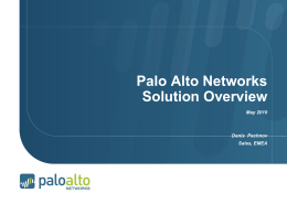Palo Alto Networks Next