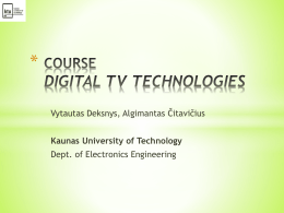 COURSE CONTENT_Slides_1 - Kaunas University of Technology