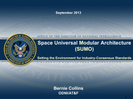 Space Universal Modular Architecture