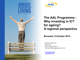 AAL Programme – OpenDays – Oct 2014.pptm